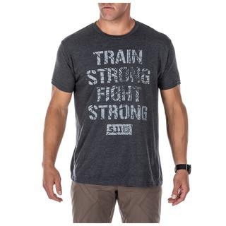 41191QGW 5.11 Tactical MenS Train Strong Tee-511