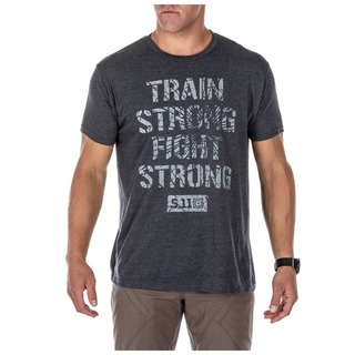 41191QGW 5.11 Tactical MenS Train Strong Tee-5.11 Tactical