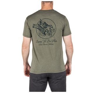 5.11 Tactical MenS Born Free Tee-