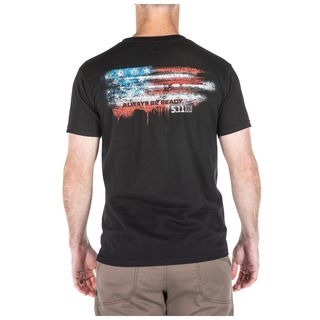 5.11 Tactical MenS Vintage Flag Short-Sleeve Tee-