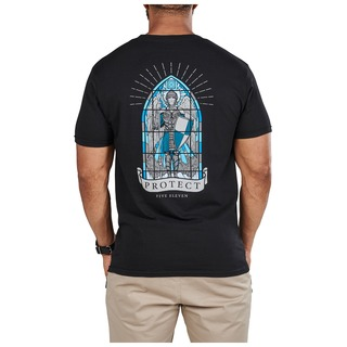 5.11 Tactical MenS St Michael Stained Flass Tee-