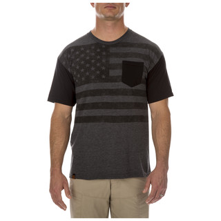 5.11 Tactical MenS Stars And Bars Tee-