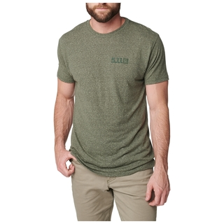 5.11 Tactical Mens Triblend Legacy Short Sleeve Tee-
