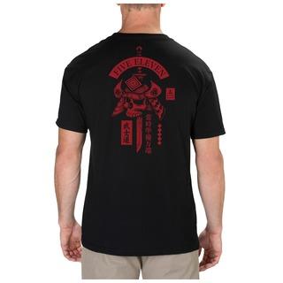 5.11 Tactical MenS Samurai Skull Tee-