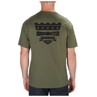 5.11 Tactical MenS Tower Shield Tee-