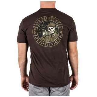 5.11 Tactical Men Death Before Decaf Tee-