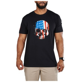 5.11 Tactical MenS Usa Skull Tee-
