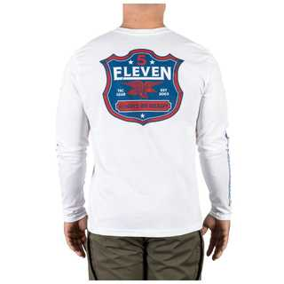 5.11 Tactical MenS Classic Shield Long Sleeve Tee-