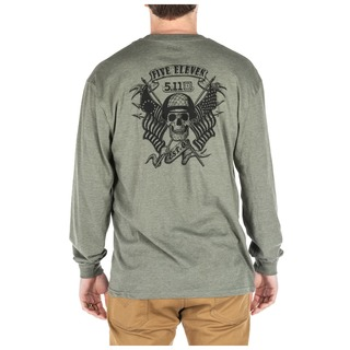 5.11 Tactical MenS Banners And Bayonets Long Sleeve Tee-5.11 Tactical
