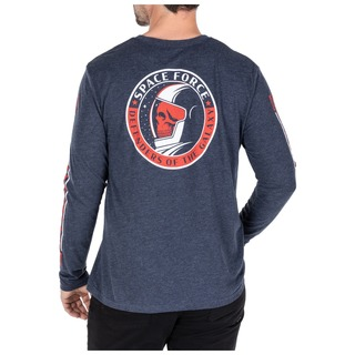 5.11 Tactical MenS Space Force Long Sleeve Tee-5.11 Tactical