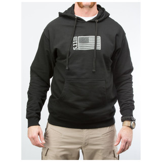 5.11 Tactical MenS Embroidered Flag Hoodie