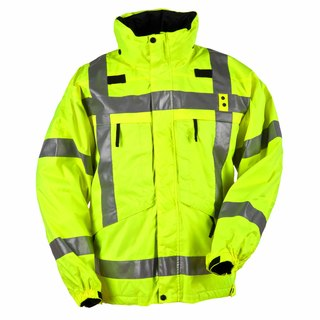 5.11 Tactical MenS 3-In-1 Reversible High-Visibility Parka Jacket-5.11 Tactical