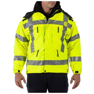 5.11 Tactical Men 3-In-1 Reversible High-Visibility Parka Jacket-511