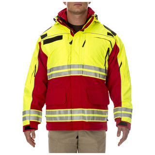 5.11 Tactical MenS Responder High-Visibility Parka Jacket-5.11 Tactical