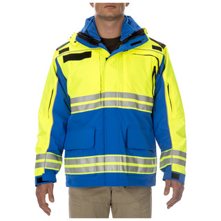 5.11 Tactical Mens Responder High-Visibility Parka Jacket-5.11 Tactical