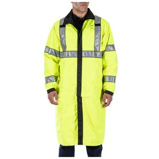5.11 Tactical MenS Reversible Hi-Vis Rain Coat-