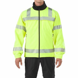 Reversible Hi-Vis Softshell Jacket