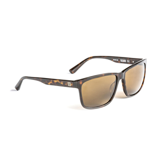 5.11 Tactical Daybreaker Brown Tortoise Polarized Sunglasses-5.11 Tactical