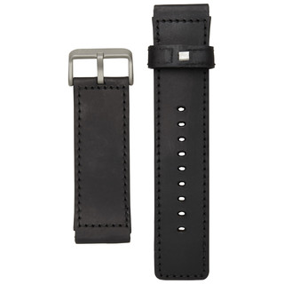 H.R.T.® Titanium Leather Watch Band