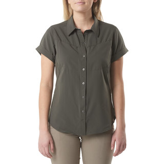 5.11 Tactical Womens Freedom Flex Woven Short Sleeve Shirt-5.11 Tactical