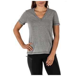 5.11 Tactical Zoe V-Neck Mock Twist Short Sleeve Tee-