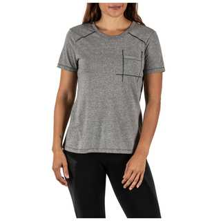 5.11 Tactical Amelia Crew Shirt Mock Twist Short Sleeve Tee-