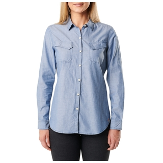 5.11 Tactical Women Chambray Shirt-511