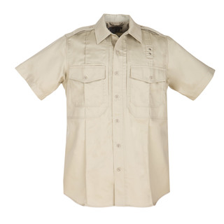 5.11 Tactical Men Twill Pdu Class- B Short Sleeve Shirt-