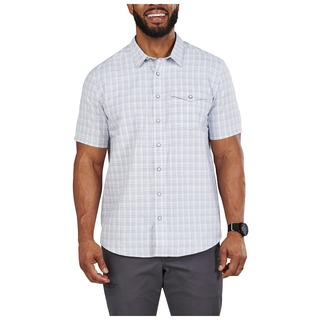 5.11 Tactical MenS Aiden Short Sleeve Plaid Shirt-