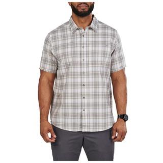 5.11 Tactical MenS Wyatt Short Sleeve Plaid Shirt-5.11 Tactical