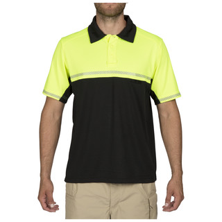 5.11 Tactical MenS Bike Patrol Short Sleeve Polo Shirt-