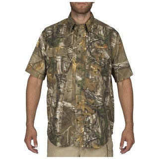 5.11 Tactical MenS Realtree X-Tra Taclite Pro Shirt - Short Sleeve-
