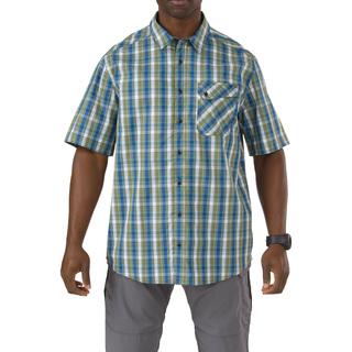 5.11 Tactical Men Single Flex Covert Short Sleeve Shirt-5.11 Tactical