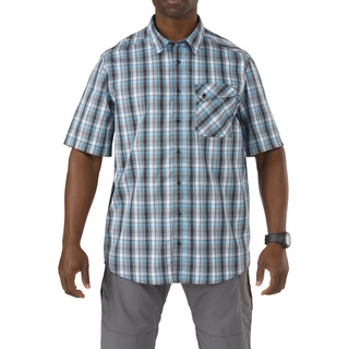 5.11 Tactical MenS Single Flex Covert Short Sleeve Shirt-