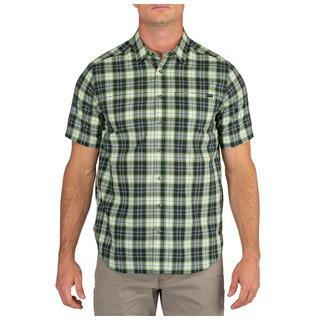 5.11 Tactical Men Hunter Plaid Short Sleeve Shirt-
