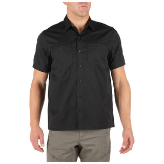 5.11 Tactical MenS Flex Tac Twill Short Sleeve Shirt-