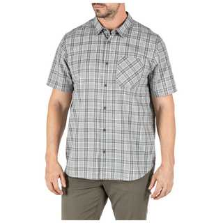 5.11 Tactical MenS Carson Plaid Short Sleeve Shirt-