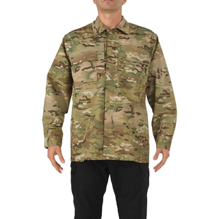 5.11 Tactical MenS Multicam Tdu Long Sleeve Shirt-