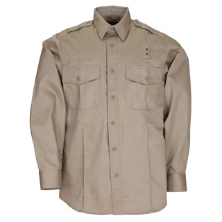 5.11 Tactical Men Twill Pdu Class-A Long Sleeve Shirt-5.11 Tactical