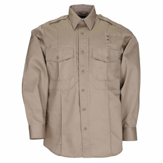 5.11 Tactical Mens Twill Pdu® Class- B Long Sleeve Shirt-5.11 Tactical