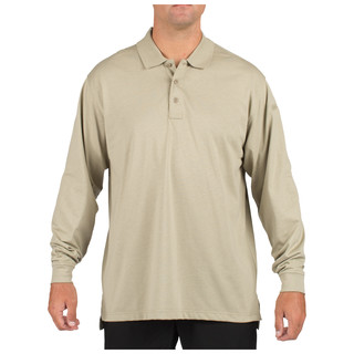 5.11 Tactical MenS Tactical Jersey Long Sleeve Polo Shirt-