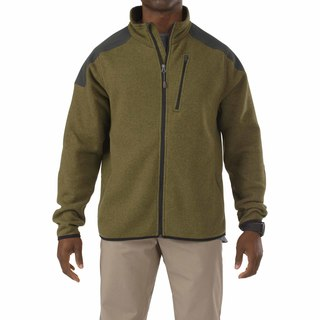 5.11 Tactical MenS Tactical Full Zip Sweater-5.11 Tactical
