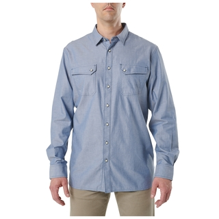 5.11 Tactical MenS Buckshot Chambray Shirt-5.11 Tactical