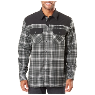 5.11 Tactical MenS Endeavor Long Sleeve Flannel Shirt-5.11 Tactical