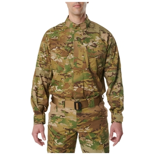 5.11 Tactical MenS 5.11 Stryke Tdu Multicam Long Sleeve Shirt-5.11 Tactical