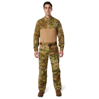 5.11 Tactical Mens 5.11 Stryke® Tdu® Rapid Multicam® Long Sleeve Shirt-511