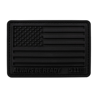 5.11 Tactical Usa Flag Patch - Black Out Series-
