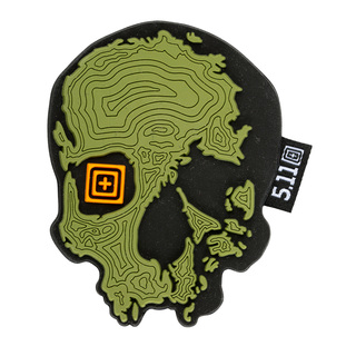 5.11 Tactical Topo Skull Patch-5.11 Tactical