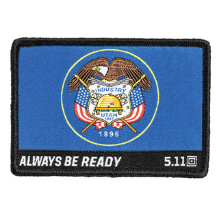 5.11 Tactical Public Safety Accessories 5.11 Tactical Utah Flag Patch-5.11 Tactical