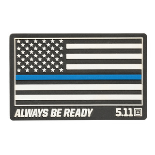 5.11 Tactical Thin Blue Line Rubber Patch-